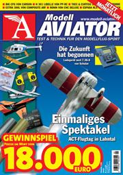Modell AVIATOR Ausgabe 01/2008