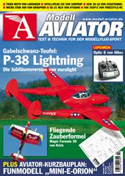 Modell AVIATOR Ausgabe 02/2006