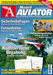 Modell AVIATOR Ausgabe 02/2008