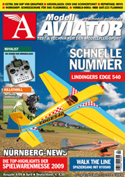 Modell AVIATOR Ausgabe 04/2009
