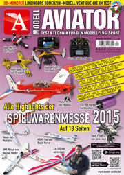 Modell AVIATOR Ausgabe 04/2015