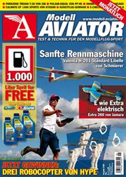 Modell AVIATOR Ausgabe 05/2008