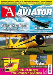 Modell AVIATOR Ausgabe 08/2008