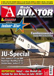 Modell AVIATOR Ausgabe 09/2008