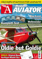 Modell AVIATOR Ausgabe 10/2008