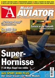 Modell AVIATOR Ausgabe 11/2008