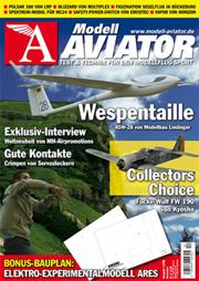 Modell AVIATOR Ausgabe 12/2008
