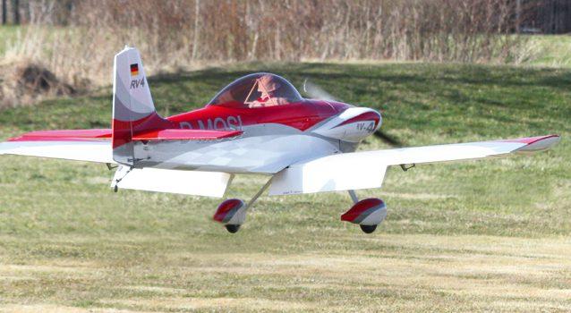 Großmodell Van's Aircraft RV-4 von Grupp Modellbau