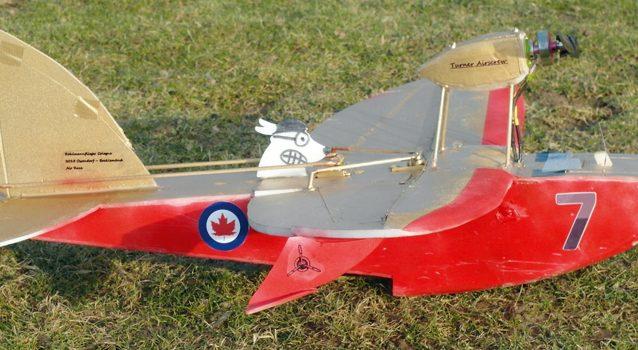 Rasantes Pseudo-Scale-Flugboot