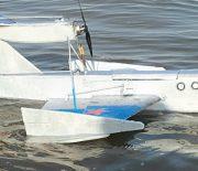 Flugboot Ekranoplan zum Selberbauen