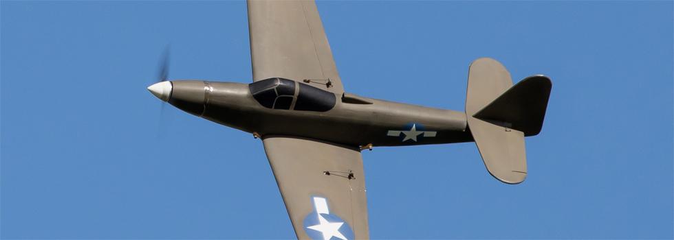 Aircombat-Modell aus Styro schneiden