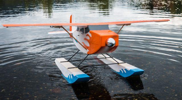 Mini-Schwimmer als Downloadplan für Mini-Modelle