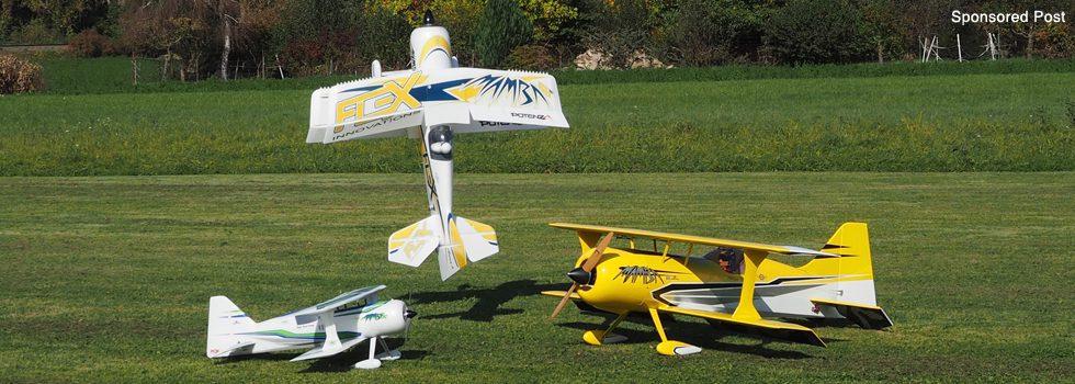 Kunstflugspaß mit der Mamba 60 E PNP
