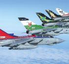 Mehrzweck Kampfflugzeug MRCA PA-200 Tornado