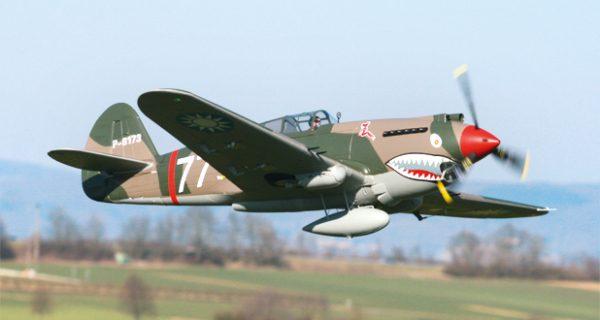 P-40B Warhawk von FMS/ One Hobby