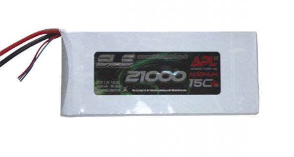 Neue Hochkapazitäts-LiPos