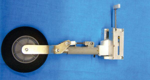 Mechanisches Einziehfahrwerk selbst gebaut
