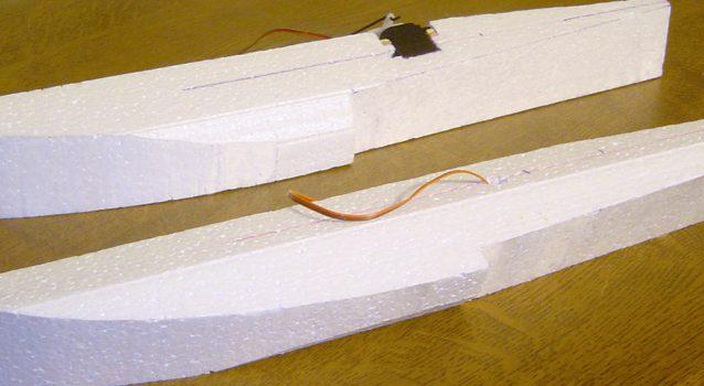 Workshop: Styropor schneiden und beplanken
