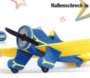 P-26 Peashooter – Hallenschreck in blau-gelb