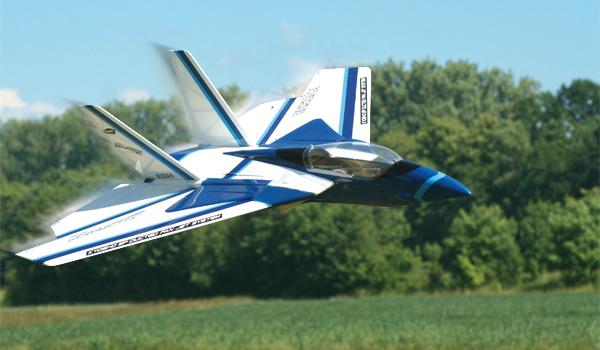 Jet Vision DF 45 – Ein Modell mit markanten Schwenkflügeln