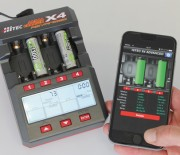 Mignonbatterien intelligent mit Hitecs X4 Advanced laden