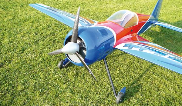 Yak-55 SP – 3D aus Edelstahl