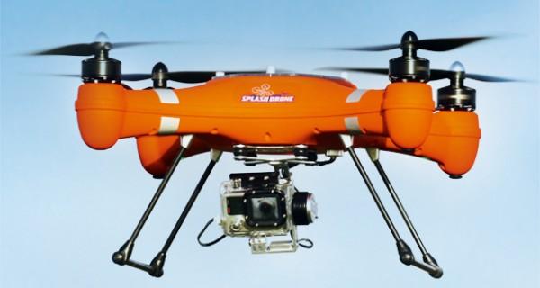 Wasserfest, Kameraträger, Rettungs-Drohne