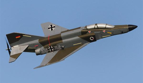 Fun & Action mit einer Phantom RF-4e