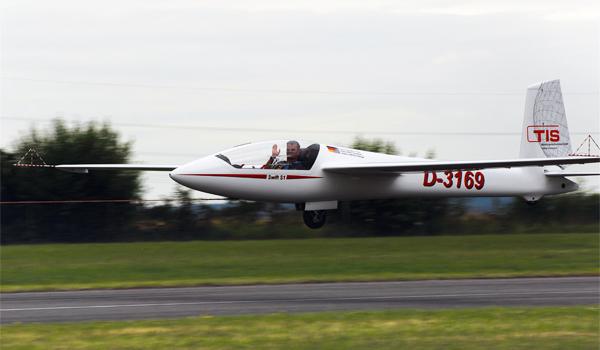 Vorbilddokumentation Kunstflugsegler Swift S-1