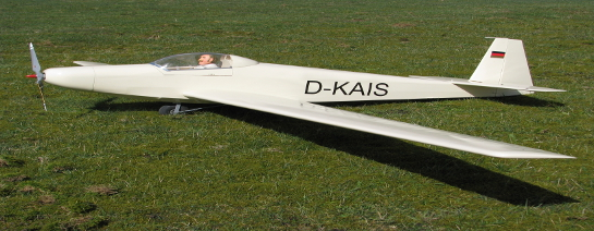 Motorsegler Kaiser K11 als Holz-Eigenbau