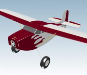 3D-Ansicht des Downloadplanmodells Chopper