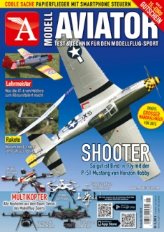 Modell AVIATOR Ausgabe 01/2015