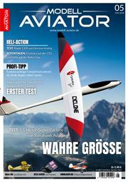 Modell AVIATOR Ausgabe 05/2018