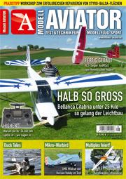 Modell AVIATOR Ausgabe 08/2017