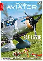 Modell AVIATOR Ausgabe 08/2018