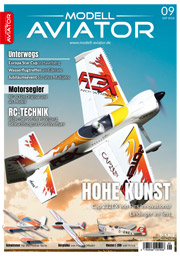Modell AVIATOR Ausgabe 09/2018