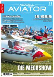 Modell AVIATOR Ausgabe 11/2018