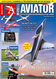 Modell AVIATOR Ausgabe 12/2017